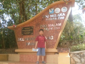 selamat datang ke zoo Melaka