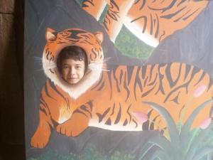 dan saya pun menjadi harimau jadian