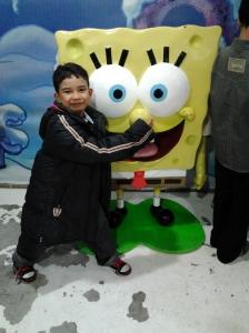 saya dan spongebob