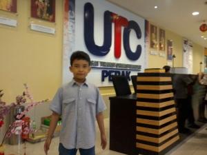 saya du UTC Ipoh