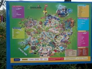 peta ini kita boleh temui di pintu masuk Legoland