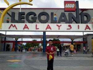 saya dah sampai ke Legoland Malaysia