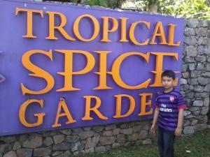 lokasi spice garden adalah di tanjung Bungah...