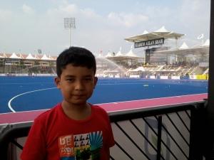 inilah stadium Sultan Azlan Shah