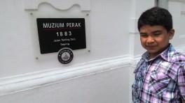 selamat datang ke muzium Perak